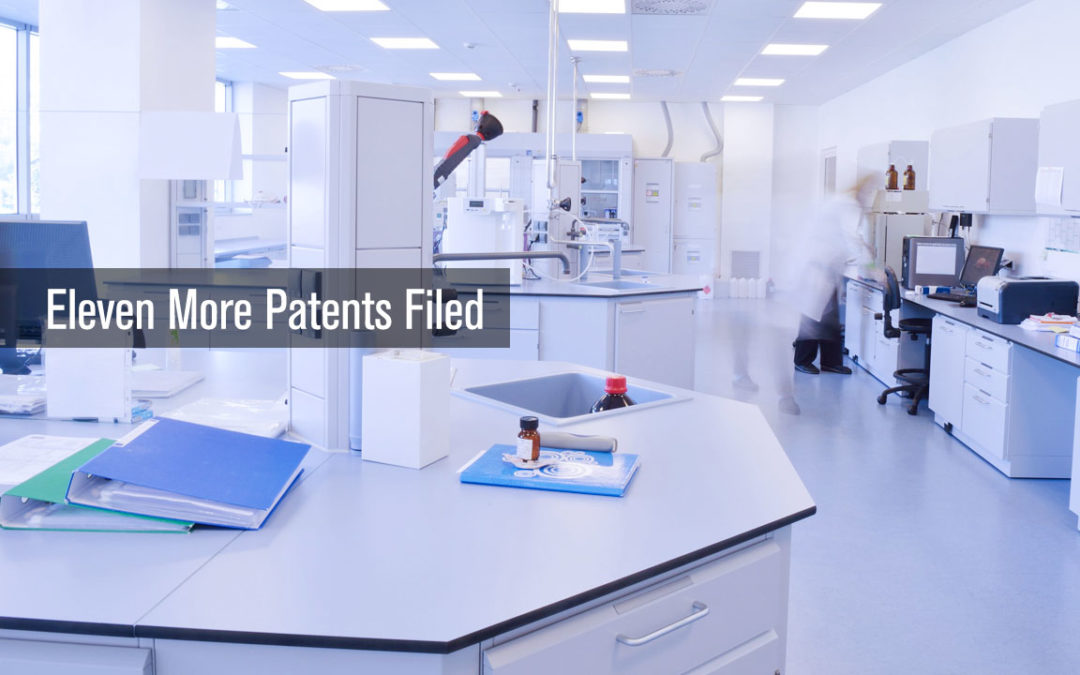 Eleven More Patents Filed