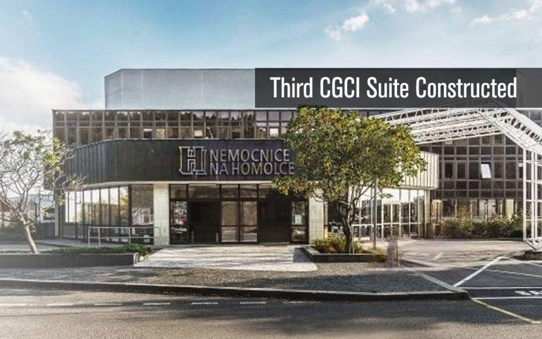 Third CGCI Suite Constructed
