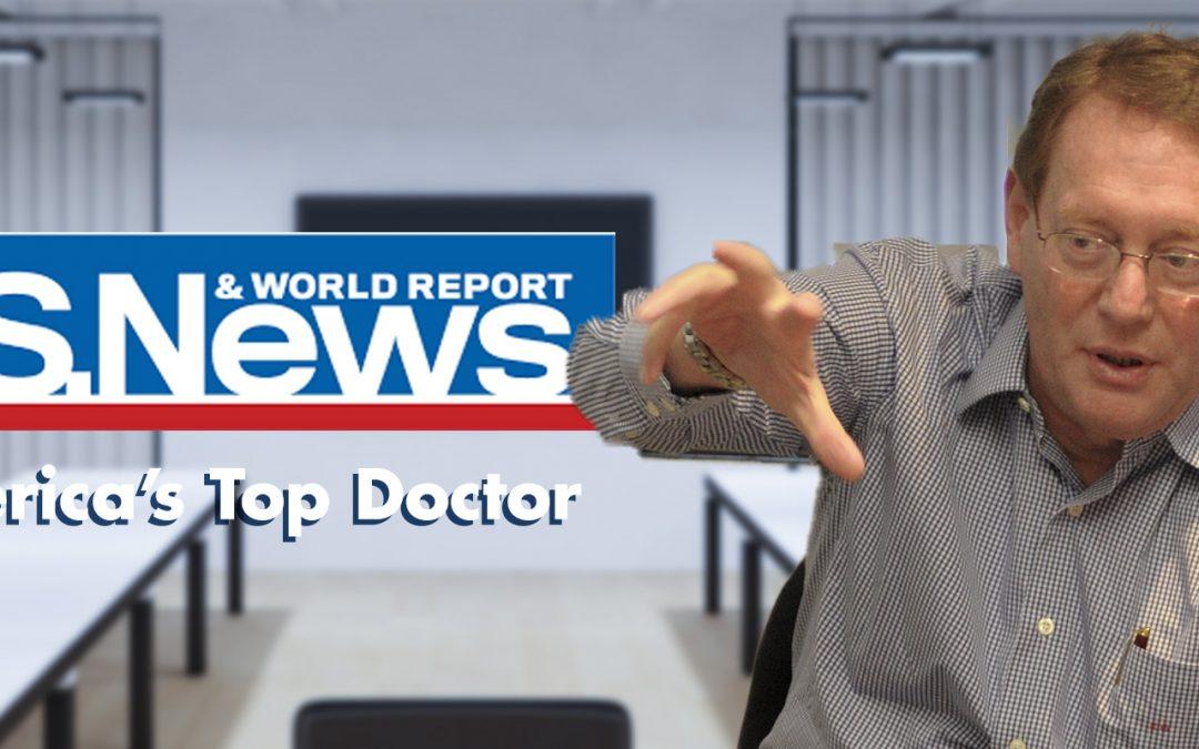 Dr. Eli Gang Ranked Among America's Best Doctors