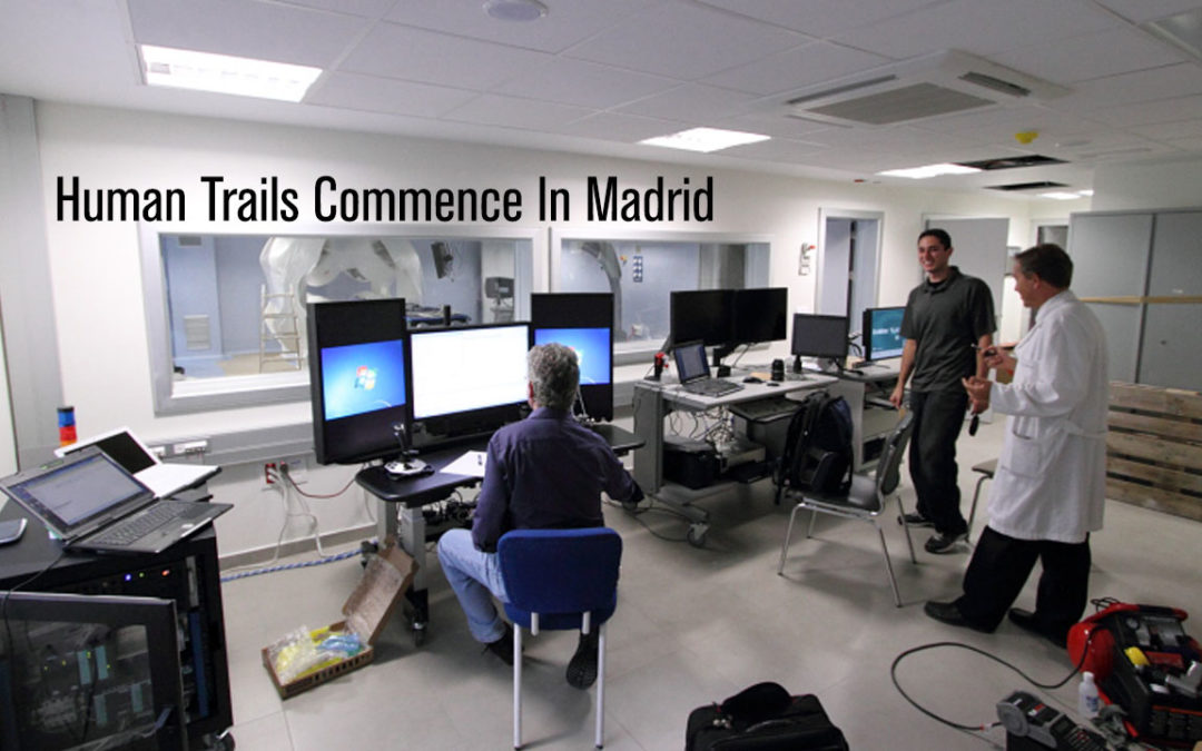 Human Trails Commence In Madrid